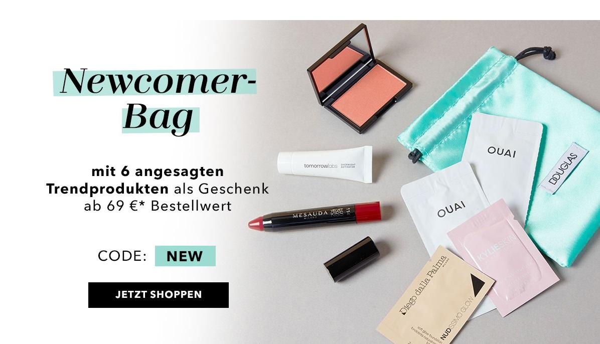New Brands Bag: Newcomer-Bag mit mit 6 angesagten Trendprodukten ab 69 Euro* Bestellwert