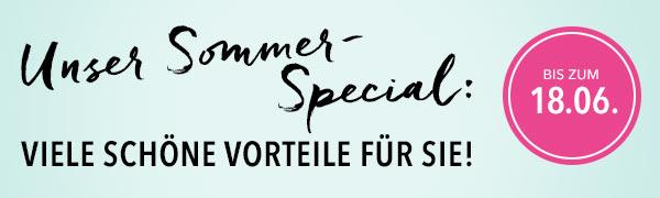 Unser Sommer-Special: Viele schöne Vorteile für Sie