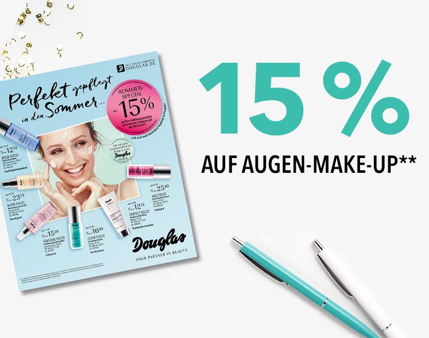 15 % auf Augen-Make-up**