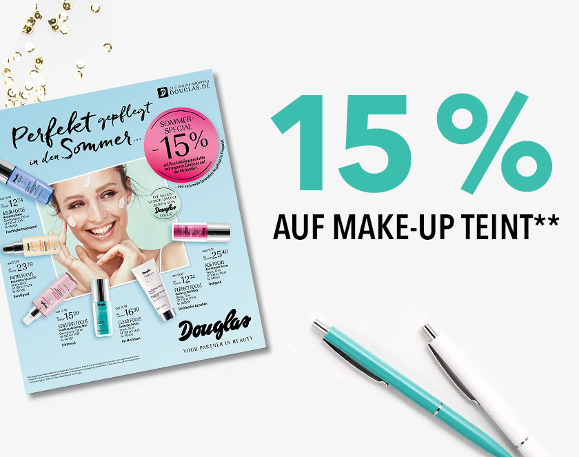 15 % auf Make-up Teint**